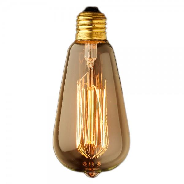 Ретро лампочка Эдисон ST64-1