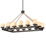 Люстра Candelabra Lamp Shades Rectangular