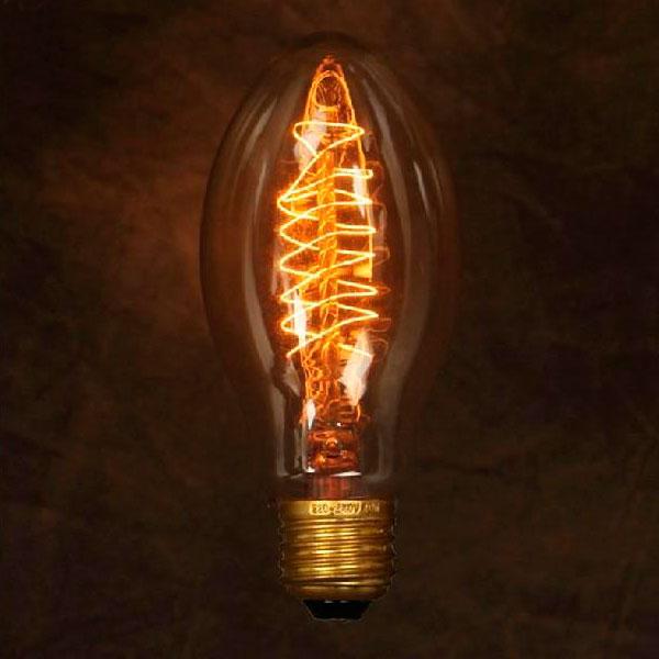 Ретро лампочка Эдисон C55