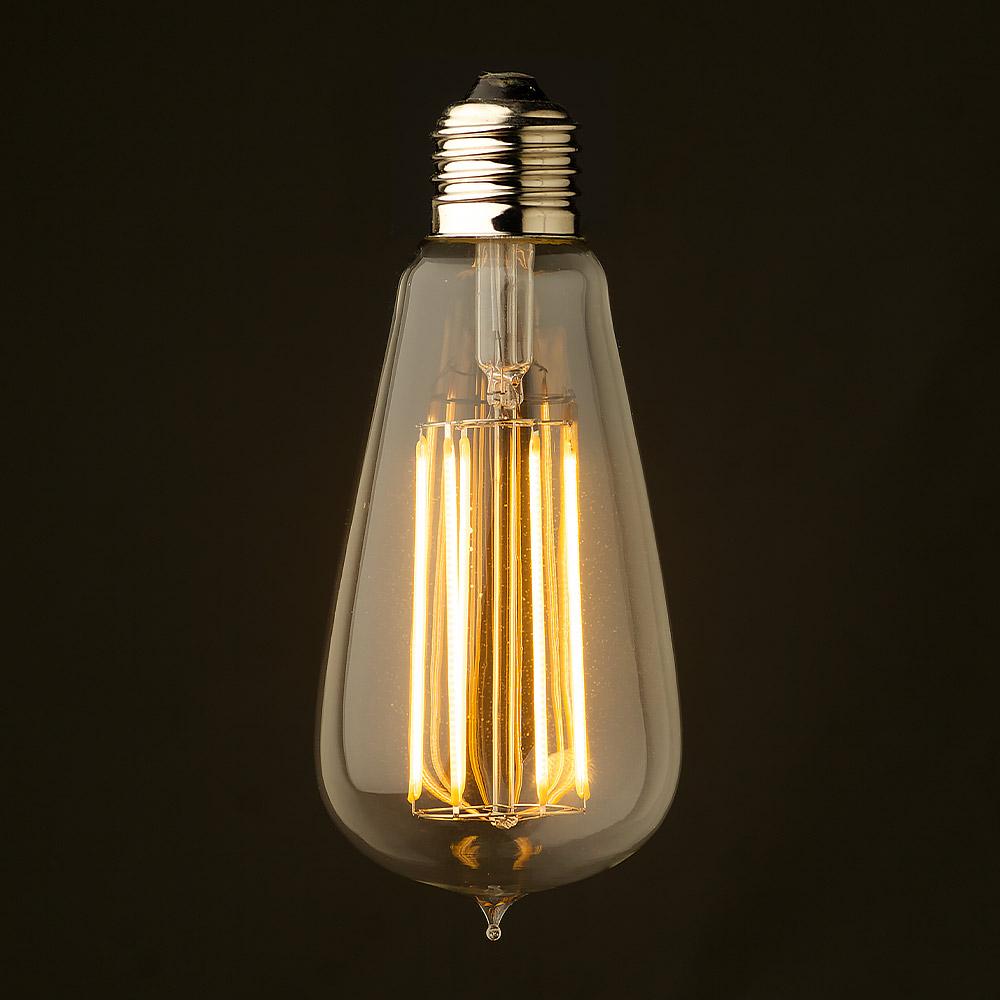 Ретро лампочка Эдисон ST64-3